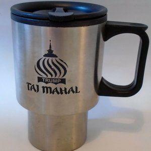 Trump Taj Mahal Stainless Steel Coffee Mug Lid